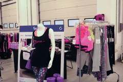 Burn Activewear for the first time at #theADmovement